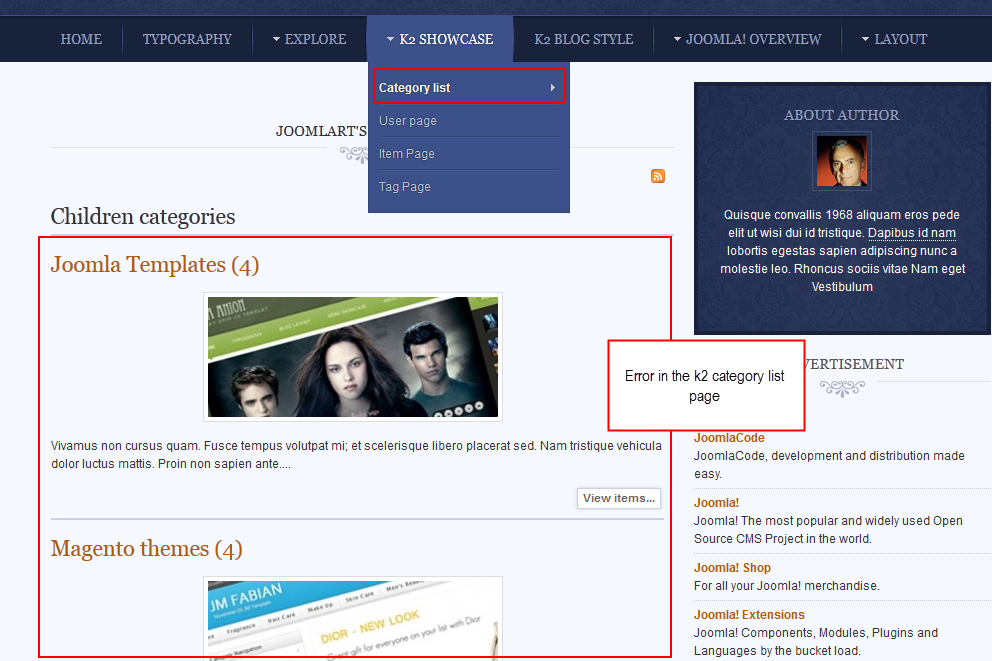 You can choose joomla category ,k2 category, k2 items as content source or
